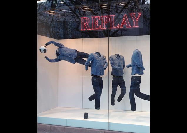 A Replay World Cup window in Berlin